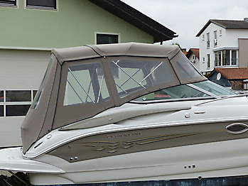 Camperverdeck Crownline 250 CR Sunbrella Plus Taupe 13