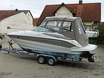 Camperverdeck Crownline 250 CR Sunbrella Plus Taupe 14