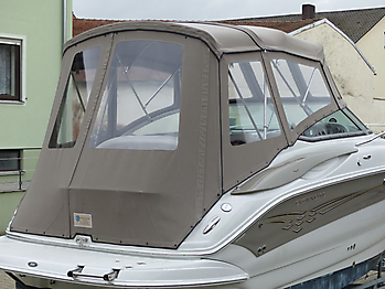 Camperverdeck Crownline 250 CR Sunbrella Plus Taupe 18