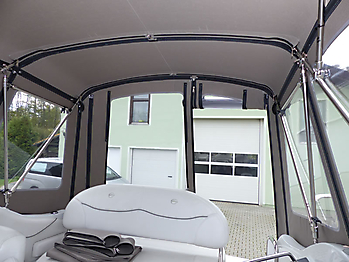 Camperverdeck Crownline 250 CR Sunbrella Plus Taupe 23