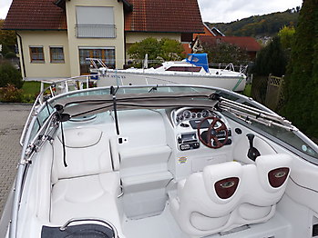 Camperverdeck Crownline 250 CR Sunbrella Plus Taupe 27