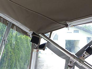 Altes Originalverdeck Crownline 270 CR zum direkten Vergleich 11