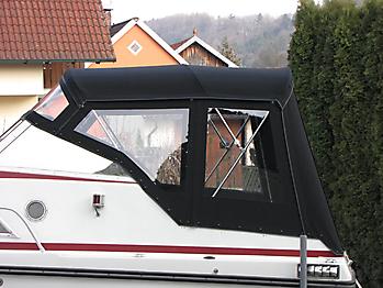 Verdeck Doriff 609 Bootsverdeck Persenning 04