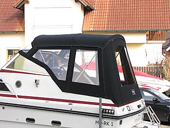 Verdeck Doriff 609 Bootsverdeck Persenning 11