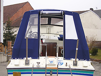 Verdeck Fairline Holiday 24 Persenning  02