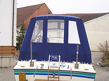 Verdeck Fairline Holiday 24 Persenning  03