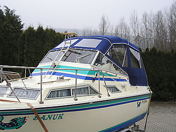 Verdeck Fairline Holiday 24 Persenning  04