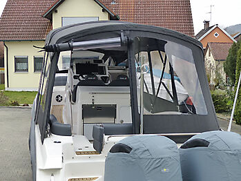 Verdeck Formenti ZAR 95 Sport Luxury Bootsverdeck 11