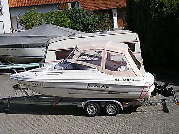 Verdeck Glastron GS 209 Persenning 01