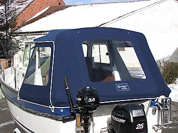 Verdeck Hardy 20 Pilot Persenning 06