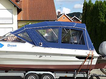 Verdeck Hohmann H9 Bootsverdeck Persenning 04