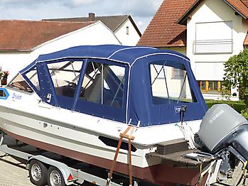 Verdeck Hohmann H9 Bootsverdeck Persenning 12