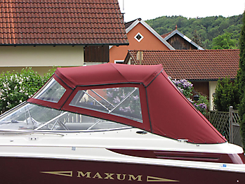 Verdeck Maxum 2300 SC Bootsverdeck Persenning 04