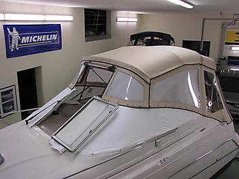 Verdeck Maxum 2400 SCR Persenning 26