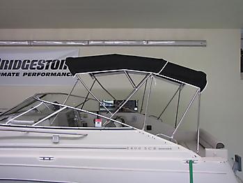 Verdeck Maxum 2400 SCR Persenning  10
