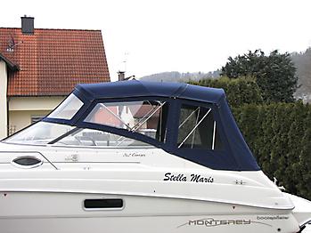 Verdeck Monterey 262 Cruiser Persenning 04