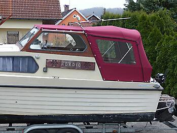 Verdeck Nordic 79 Bootsverdeck Persenning 04