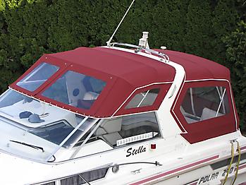 Verdeck Polar 290 Monaco Persenning 12