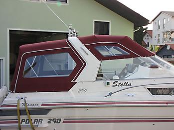 Verdeck Polar 290 Monaco Persenning 15
