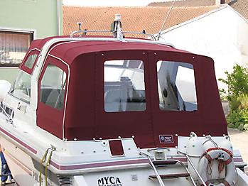 Verdeck Polar 290 Monaco Persenning 17