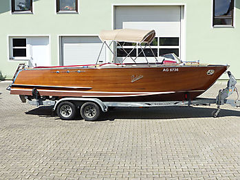 Verdeck Portier Holzboot Bootsverdeck 25