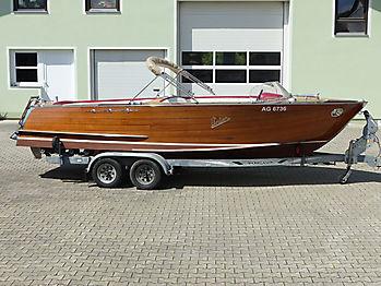 Verdeck Portier Holzboot Bootsverdeck 27