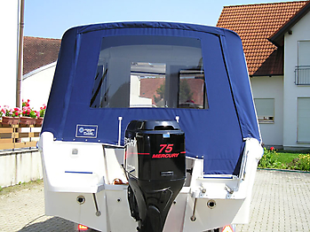 Verdeck Quicksilver 635 Pilothouse Persenning 01