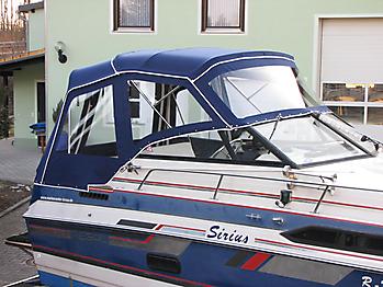 Verdeck Regal 233 XL Ambassador Persenning 06