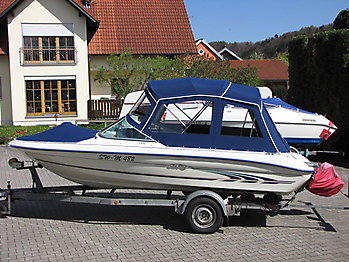Verdeck Sea Ray 175 Persenning 03