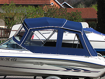 Verdeck Sea Ray 175 Persenning 04