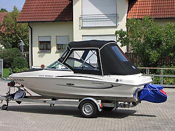 Verdeck Sea Ray 175 Sport Persenning 13