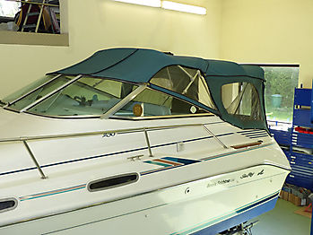 Originalverdeck Sea Ray 230 DALT als Vergleich 01