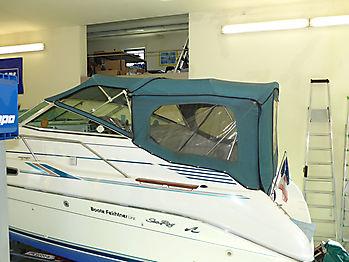 Sea Ray 230 DALT: Originalverdeck zum Vergleichen