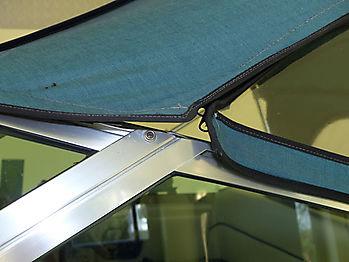 Originalverdeck Sea Ray 230 DALT als Vergleich 03