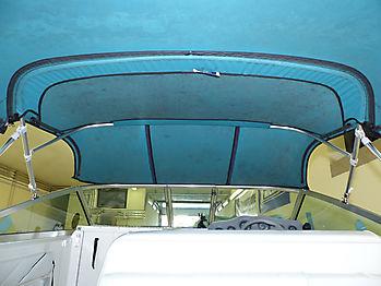 Originalverdeck Sea Ray 230 DALT als Vergleich 05