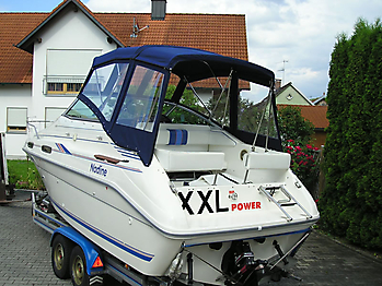 Verdeck Sea Ray 230 Sundancer Persenning  07