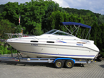 Verdeck Sea Ray 230 Sundancer Persenning  08