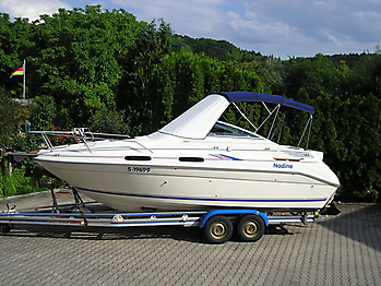 Verdeck Sea Ray 230 Sundancer Persenning  09