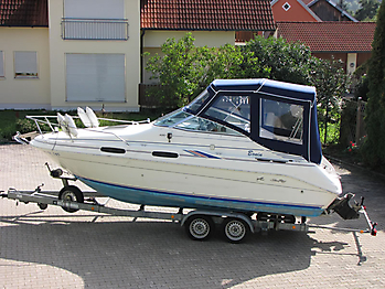 Verdeck Sea Ray 230 Sundancer Persenning  01