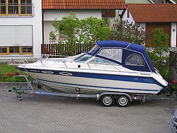 Verdeck Sea Ray 230 CC Persenning  01