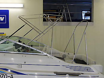Verdeck Sea Ray 230 DA Bootsverdeck Persenning 19