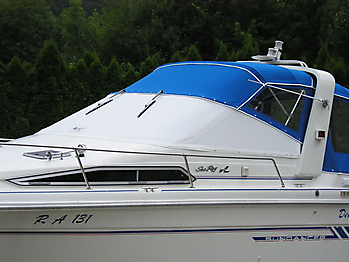 Verdeck Sea Ray 250 Sundancer Persenning  06