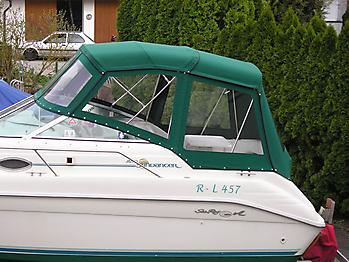 Verdeck Sea Ray 250 Sundancer Persenning  03