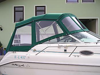 Verdeck Sea Ray 250 Sundancer Persenning  05