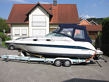 Verdeck Sea Ray 250 Sundancer Persenning 03
