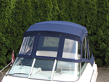 Verdeck Sea Ray 250 Sundancer Persenning 07