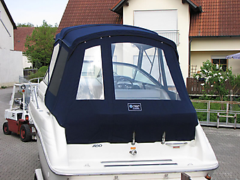 Verdeck Sea Ray 250 Sundancer Persenning 16