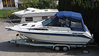 Verdeck Sea Ray 250 DA Persenning  01