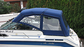 Verdeck Sea Ray 250 DA Persenning  04