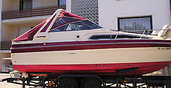 Verdeck Sea Ray 268 Sundancer Persenning 02